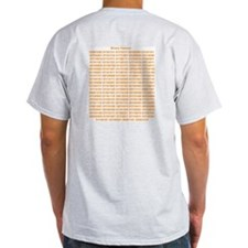 Binary Humour Grey T-Shirt