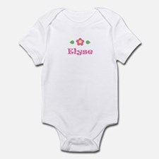 "Pink Daisy - ""Elyse"" Infant Bodysuit"