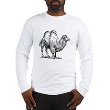 Camel Sketch Long Sleeve T-Shirt