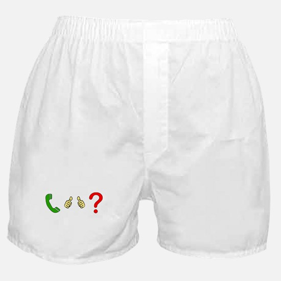 Call Me Maybe Boxer Shorts