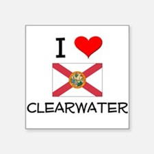 I Love CLEARWATER Florida Sticker