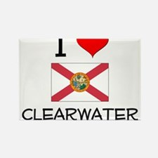 I Love CLEARWATER Florida Magnets