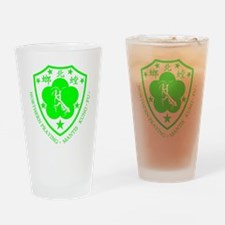 green mantis Drinking Glass