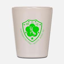 green mantis Shot Glass