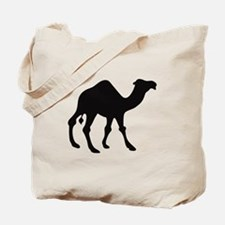 Camel Silhouette Tote Bag