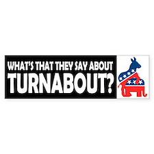Democrats on Top Bumper Bumper Sticker