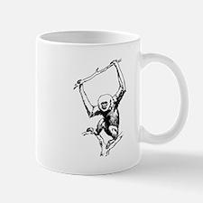 Gibbon Monkey Mugs