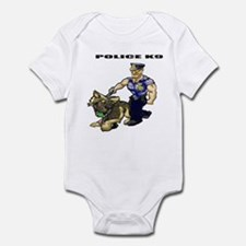 Police K9 Unit Infant Bodysuit