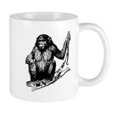 Gorilla In Tree Mugs