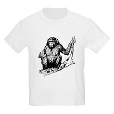 Gorilla In Tree T-Shirt