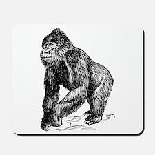Gorilla Sketch Mousepad