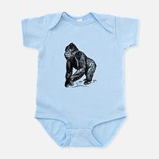 Gorilla Sketch Body Suit