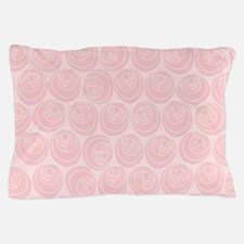 Mackintosh Roses Art Nouveau Pattern Pillow Case