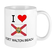 I Love FORT WALTON BEACH Florida Mugs