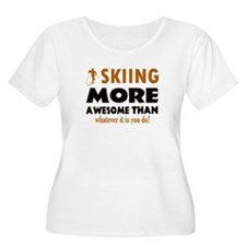 Awesome skiing designs T-Shirt