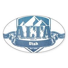 Alta Utah Ski Resort 1 Decal