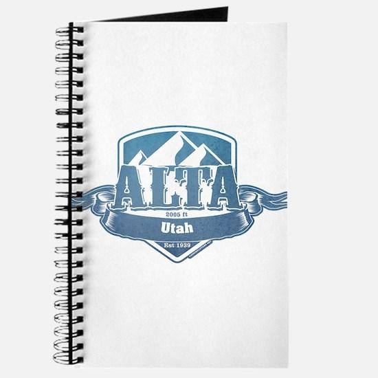 Alta Utah Ski Resort 1 Journal