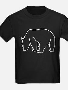 Bear Outline T-Shirt