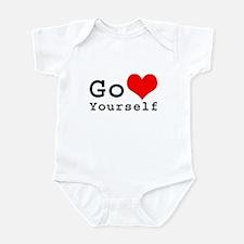 Go Love Yourself Infant Bodysuit