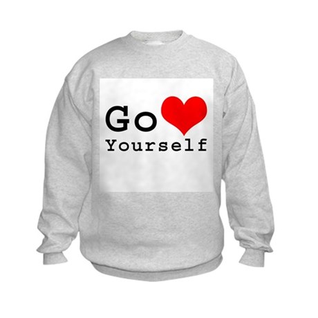 Go Love Yourself Kids Sweatshirt