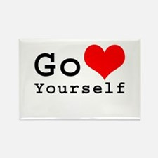 Go Love Yourself Rectangle Magnet