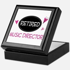 Retired Music Director Keepsake Box