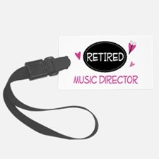 Retired Music Director Luggage Tag