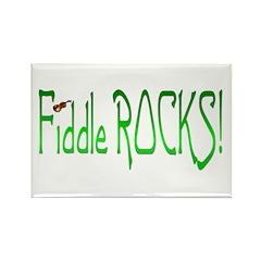Fiddle Rocks II Rectangle Magnet