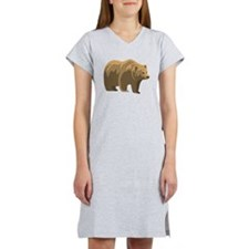 Brown Bear Women's Nightshirt