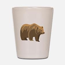Brown Bear Shot Glass