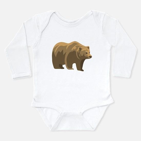Brown Bear Body Suit