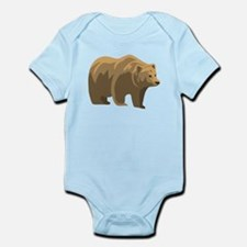 Brown Bear Body Suit