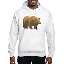 Brown Bear Jumper Hoody