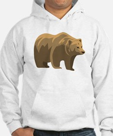 Brown Bear Jumper Hoody