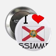 "I Love KISSIMMEE Florida 2.25"" Button"