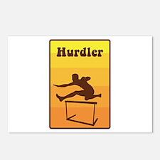 Hurdler Postcards (Package of 8)