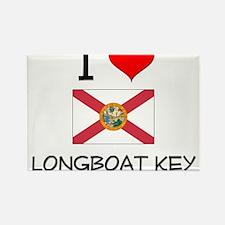 I Love LONGBOAT KEY Florida Magnets