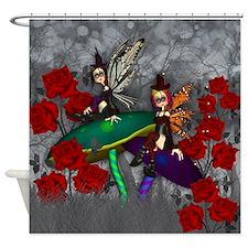 Gothic Fock Fairy Fantasy Art Shower Curtain