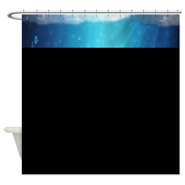 Fantasy mermaid shower curtain by moonlakedesigns for Fantasy shower curtains