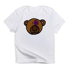 Black Eye Teddy Bear Infant T-Shirt