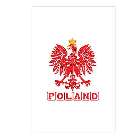 Polish Eagle v3 Postcards (Package of 8)