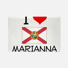 I Love MARIANNA Florida Magnets