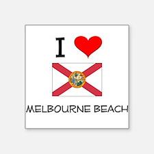 I Love MELBOURNE BEACH Florida Sticker