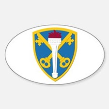 SSI - Foreign Intelligence Command Sticker (Oval)