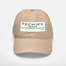 Tempremental Techies Baseball Baseball Cap