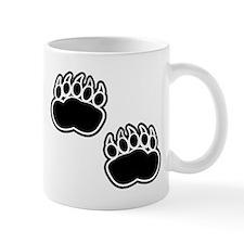 Bear Paw Prints Mugs