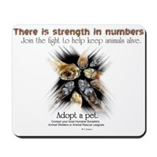 Strength in numbers - Mousepad