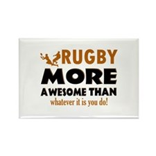 Awesome rugby designs Rectangle Magnet