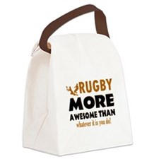 Awesome rugby designs Canvas Lunch Bag