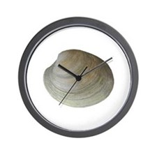 Quahog Clam Wall Clock
